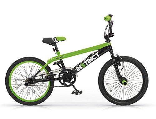 MBM Instinct Freestyle 20 Acc, Bicicleta Unisex Adulto, Verde A10, XX