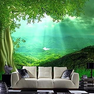 3D Mural Wallpaper Non-Woven Nature Scenery Wall Mural para la Sala de Estar Mural de Arte Fondos de Pantalla decoración para el hogar Wallpaper dormitorio-450x300cm