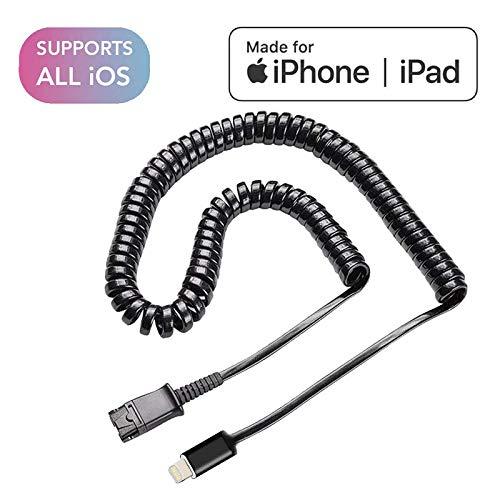 Plantronics Headset-Kabel (QD auf Lightning, Apple MFI Zertifiziert)