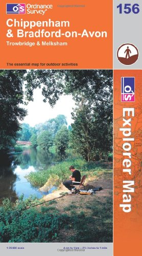OS Explorer map 156 : Chippenham & Bradford-on-Avon
