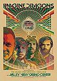 PCCASEWIND Leinwanddrucke,Imagine Dragons Band