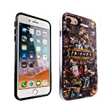 iPhone 6S 7 8 CASEMPIRE Friends TV Show Hybrid Case Shock Proof Never Fade Slim Fit Cover for IP 6S 7 8 Friends Characters Cast