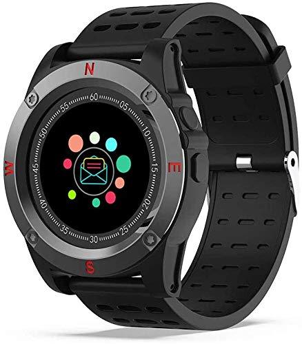 Smartwatch Round Screen Dual System Smart Motion Watch con Tarjeta SIM y Ranura para Tarjeta SD Bluetooth SmartWatch Motion Bracelet