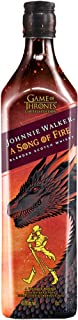 Johnnie Walker A Song of Fire – Blended Scotch Whisky, Haus Targaryen Game of Thrones Limited Edition, 70 cl, 40,8 Prozent