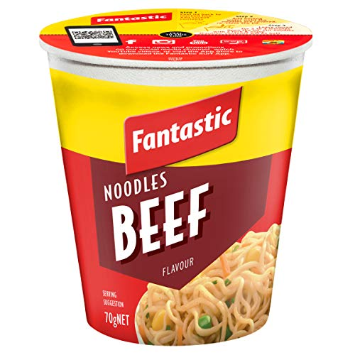 Fantastic Cup Noodle, Beef, 70g