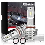 SUPAREE HB3 HB4 led ヘッドライト 新車検対応 12V/24V車対応(ハイブリッド車・EV車対応) ホワイト 6500K ファンレス 爆光 フォグランプ 2個入 3年保証