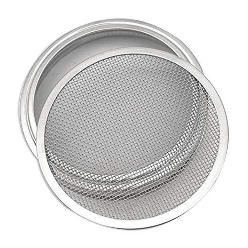 Yoouo Sprossengläser Deckel Aus Edelstahl, 1/2 / 4Stücke Sprießen Deckel -Einmachgläser - Wachsende Sprösslingen Samen Zu Hause