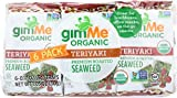 Gimme, Seaweed Snack Roasted Teriyaki Organic, 0.17 Ounce, 6 Pack