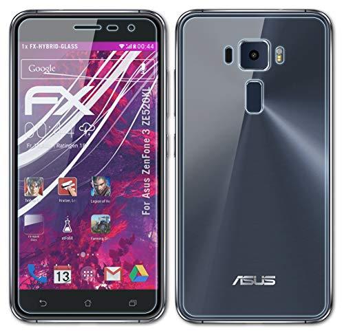atFoliX Lámina Protectora de plástico Cristal Compatible con ASUS ZenFone 3 ZE520KL...
