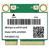 Fauge 2974Mbps WiFi 6 PCI-E Card 2.4G/5Ghz 5.0 Network WLAN WiFi Card 802.11Ax/Ac Windows 10 Laptop