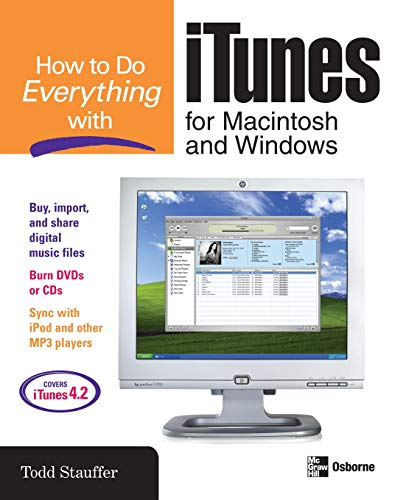 Download How to Do Everything with iTunes for Macintosh and Windows 0072231963