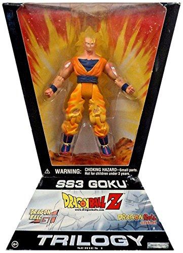 Jakks Pacific Dragon Ball Z Trilogy Series 1 SS3 Goku Action Figure