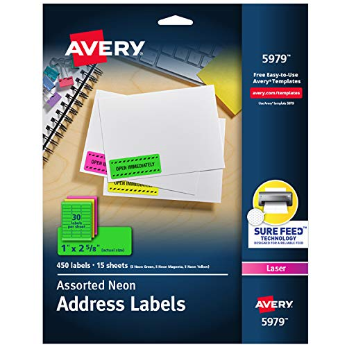 Top 10 multicolor address labels for 2021