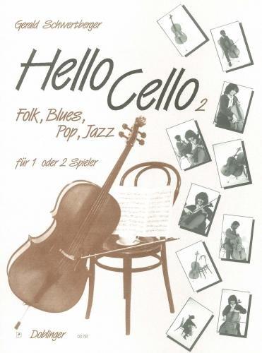 Hello Cello 2 - 2 Violoncelli - Buch