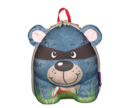 okiedog wildpack 80042 Mochila para niños con Motivo 3D y O