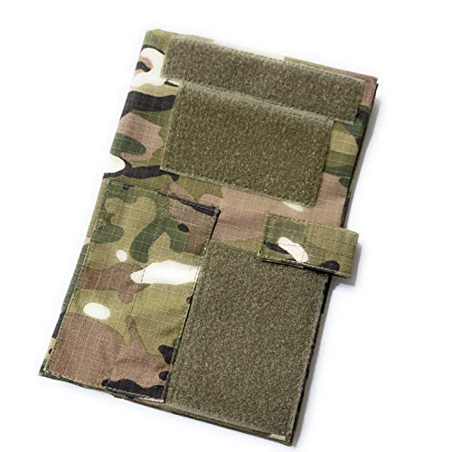 OCP Military Green Leader Book Cover, Army Tactical Notebook Cover, OCP Book Cover