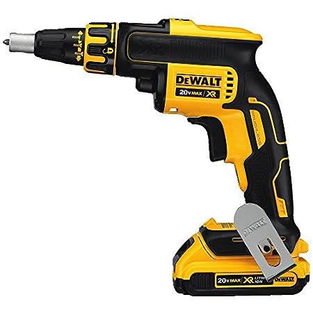 DEWALT 20V MAX XR Drywall Screw Gun Kit, Brushless (DCF620D2)