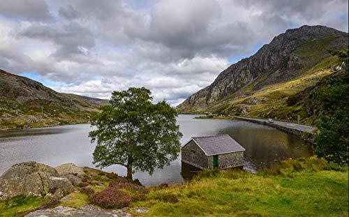1000 Stück Puzzle Hobbit Snowdonia Wales Landschafthobby Hauptdekoration DIY