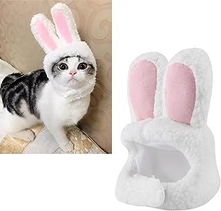 Pet Rabbit Ear Hat Bunny Ears Shape Plysch Pet Headdress för Festivaldräkt Cosplay eller Daily Wear