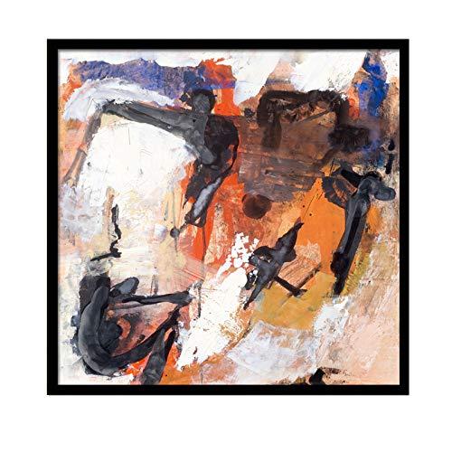 GAOQQ Arte Pintura Al óleo Abstracta, Sala De Estar/Dormitorio/Cocina Decoración De Escaparate Pintura, Decoración De La Habitación Modelo,80x80cm