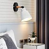 2 piezas E27 Lámpara de pared de metal moderna Lámpara de techo industrial o...