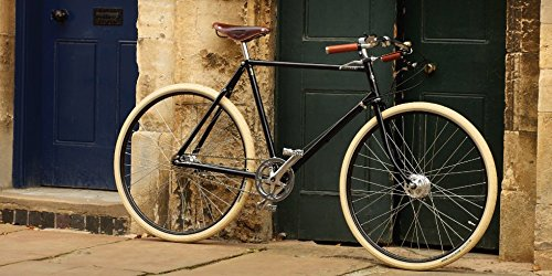 Pashley Guv'Nor - Herrenfahrrad im Stil der eleganten Gentlemen-Räder, bestechender Chic - 3-Gang-Nabenschaltung, Rahmen 22,5'', schwarz. elegant - sportlich - cool