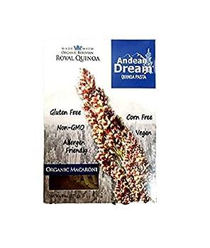 Andean Dream Quinoa Pasta Og Macar Gf 8-Ounce  Pack of 6
