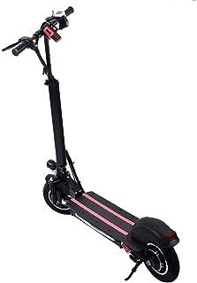 mysticall Scooter eléctrico Plegable con batería de 48V / 15AH, 10 Pulgadas con tracción a una Sola Rueda Patinete eléctrico Plegable con luz LED para Adultos, hasta 40 KM/H