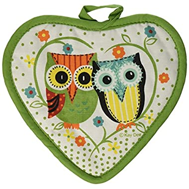 Kay Dee Designs Cotton Potholder, Life's A Hoot
