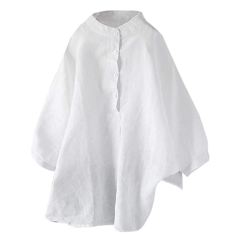 金銭的に向けて出発カンガルーシャツ liqiuxiang レディース 体型カバー 夏季対応 薄手 ユッタリ 無地 トップス クルーネック 快適 ゆったり カットソー ブラウス ナチュラル カジュアル 大きいサイズ Tシャツ OL 森ガール