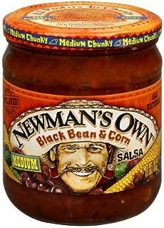 Newman's Own Black Bean & Corn Salsa 16 Oz (Pack of 1)