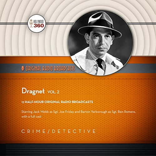 Dragnet, Vol. 2 audiobook cover art
