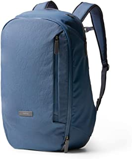Bellroy Transit Backpack - 機内持ち込み可能な旅用バックパック、耐水性の織布使用(15インチのノートPCを収納可能)- Marine Blue