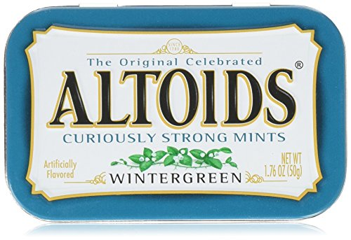 Altoids Wintergreen Mints  176 oz  6 ct
