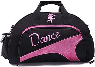 DANCEYOU Sac en Filet pour Danse /équipement Sac Stockage Sport Chaussures Noir