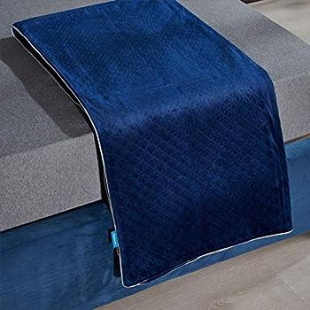 Bedsure 15lbs 60x80 Queen Weighted Blanket (Navy)