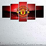 104Tdfc Canvas Manchester UnitedV2 Poster,5 Teilig