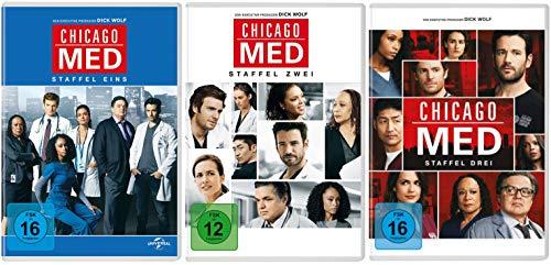 Chicago Med - Komplette Staffeln 1+2+3 DVD Set (15 DVDs)