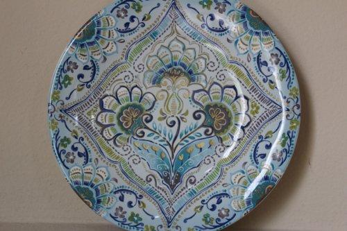 222 Fifth Aisha Porcelain Fine China 10 3/4' Dinner Plates - Set of 4