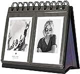 Polaroid - Álbum de fotos para Instax Mini 25, 26, 70, 7s, 90, Polaroid Snap, Snap Touch, Z2300, SocialMatic (68 unidades), color negro