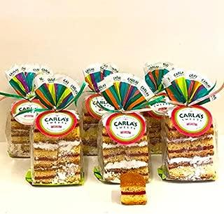 Carla's Sweets Assortment 5 (6 products: 6 Panetela de Guayaba/Guava Cakes)