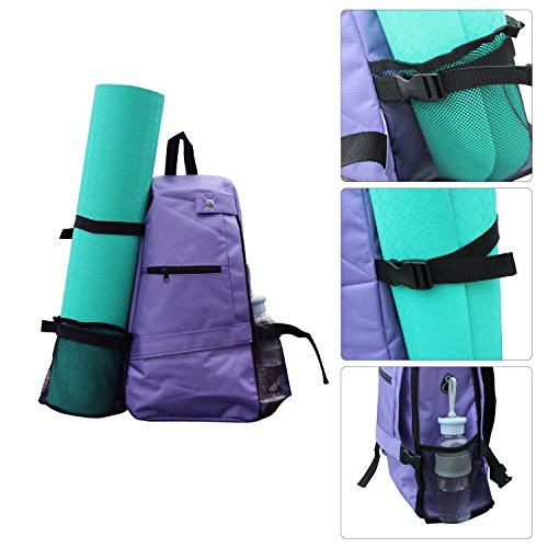 Shaddock Yoga Mat Bag Backpack Crossbody Sling Backpack Yoga Mat...