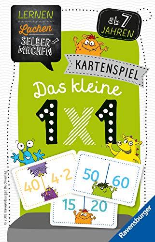 Ravensburger Kinderspiele Lernspiel 80350 - Lernen Lachen Selbermachen: Kartenspiel Das kleine 1 x 1