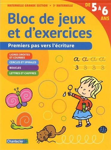 Bloc de Jeux et d'Exercices - Ecriture (5-6 a.)