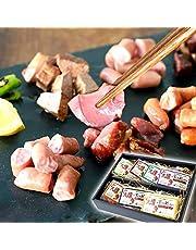 父の日 ギフト 燻製 7種 おつまみ 詰め合わせ セット 豚 肉 ホルモン 珍味 ボンレス カット 調理 済 冷蔵 贈答 味付 (父の日カード付) fd