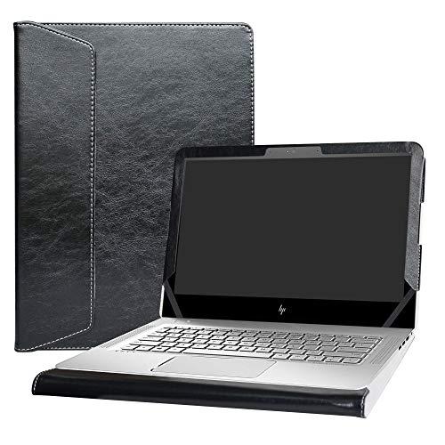 """Alapmk Spécialement Conçu Protection Housses pour 13.3"""" HP Envy 13 13-abXXX 13-dXXX Series Portable (Pas Compatible avec: Envy 13 13-ahXXX 13-adXXX 13-1000 Series),Noir"""
