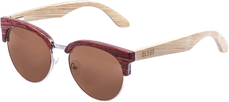 Bamboo Wood Horn Rimmed Sunglasses  Lightweight Polarized Medano Range