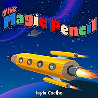 The Magic Pencil audiobook cover art