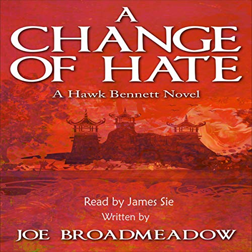 A Change of Hate audiobook cover art