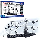 CX TECH Pacerail Marble Roller Coaster Roller Coaster perpetuo Nivel 1 Marble Roller Coaster Run DIY Track Build Kit Space Rail Track Brain Game